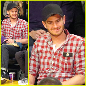 Andrew Garfield: Laker Game Guy