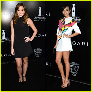 Ashley Madekwe & Christa B. Allen Celebrate Bvlgari