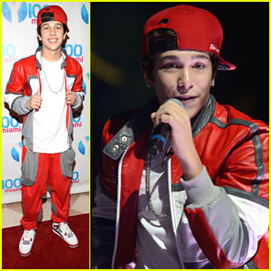 Austin Mahone: Y100's Jingle Ball 2012
