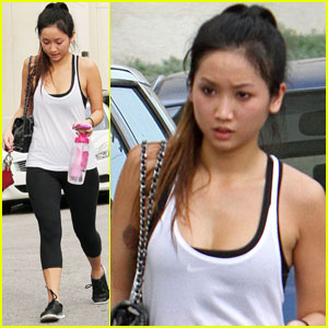 Brenda Song: Fitness On Friday