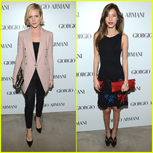 Brittany Snow &#038; Kelsey Chow: Giorgio Armani Beauty Luncheon