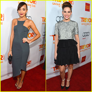 Ashley Madekwe & Christa B. Allen: Trevor Live 2012