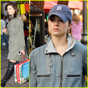 Crystal Reed: Holiday Shopping at the Grove