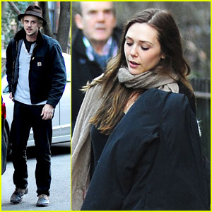 Elizabeth Olsen: Hotel Check Out with Boyd Holbrook