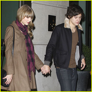 Taylor Swift & Harry Styles: Holding Hands After Party