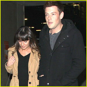 Lea Michele & Cory Monteith: Movie Date Night