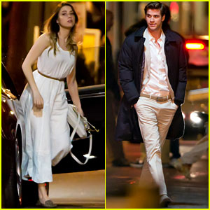 Liam Hemsworth: 'Paranoia' Set with Amber Heard