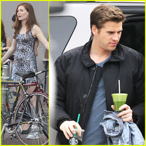 Liam Hemsworth Continues Filming 'Paranoia' in Philadelphia
