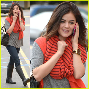Lucy Hale Shares Holiday Favorites