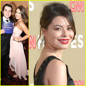 Nathan Kress &#038; Madisen Hill: CNN Heroes with Miranda Cosgrove!