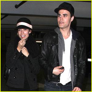 Paul Wesley & Torrey DeVitto: 'Les Miserables' Movie Date