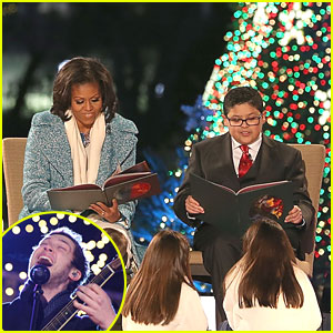 Rico Rodriguez &#038; Phillip Phillips: National Tree Lighting in Washington, D.C.
