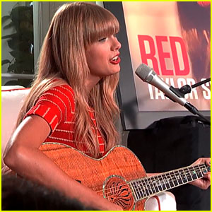 Taylor Swift: 'Red' Acoustic Performances - WATCH NOW!