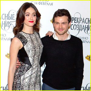Alden Ehrenreich & Emmy Rossum: 'Beautiful Creatures' in Russia