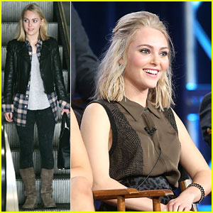 AnnaSophia Robb: 'Carrie Diaries' at TCA 2013