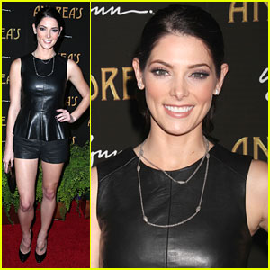 Ashley Greene: Andrea's Restaurant Opening in Vegas