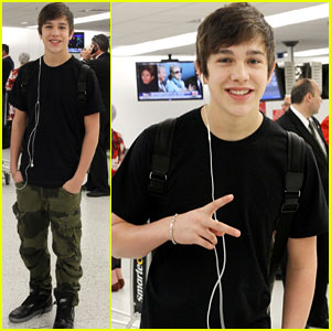 Austin Mahone: Miami Arrival