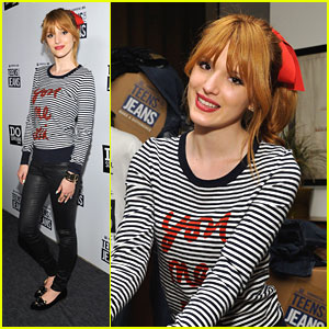 Bella Thorne: Teens For Jeans with Tristan Klier
