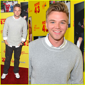 Brett Davern: 'Movie 43' Premiere