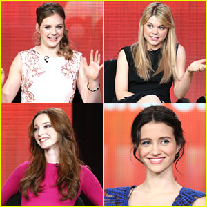 Kaitlyn Jenkins &#038; Bailey Buntain: 'Bunheads' TCA Panel