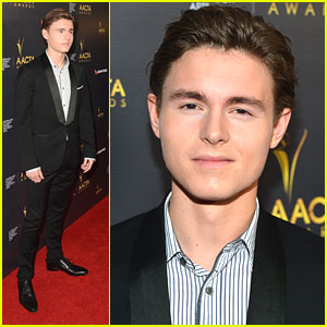 Callan McAuliffe: AACTA International Awards 2013