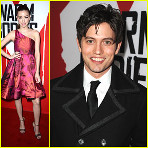 Jackson Rathbone: 'Warm Bodies' Premiere with Christian Ser