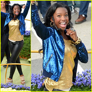 Coco Jones: Rose Parade 2013!