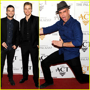 Derek Hough: New Year's Eve with Mark Salling!