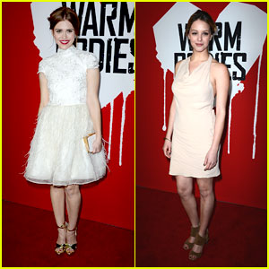 Holland Roden & Gage Golightly: 'Warm Bodies' Premiere Pair