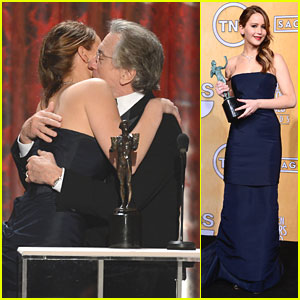Jennifer Lawrence: SAG Awards 2013 Acceptance Speech -- Watch Now!
