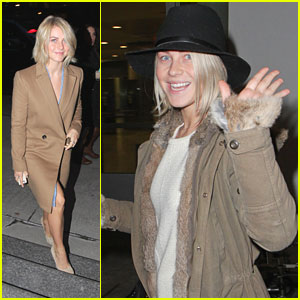 Julianne Hough: 'Safe Haven' in Toronto