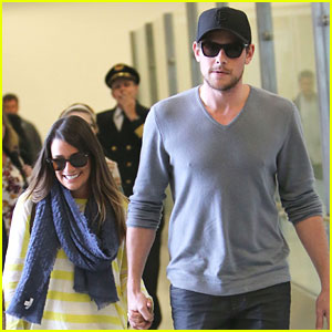 Lea Michele &#038; Cory Monteith: Holding Hands After Hawaii Vacation