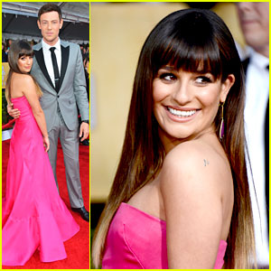 Lea Michele &#038; Cory Monteith: SAG Awards 2013