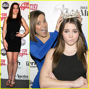 McKayla Maroney: Miss America 2013 Press Conference