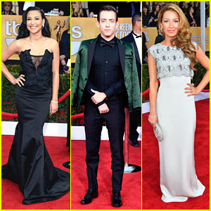 Naya Rivera: SAG Awards 2013 with 'Glee' Cast