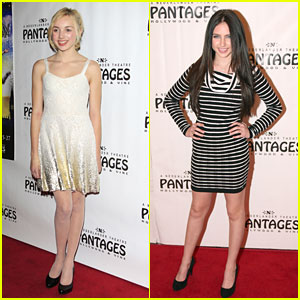 Peyton List: 'Peter Pan' Opening Night with Ryan Newman