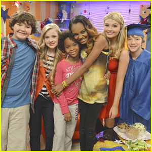 Quvenzhané Wallis Visits A.N.T. Farm Set!