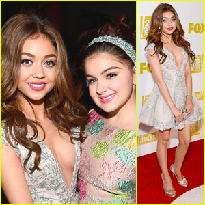 Sarah Hyland: Golden Globe After Parties with Ariel Winter