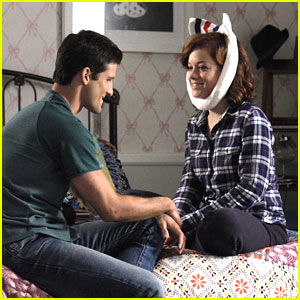Parker Young Takes Care of Jane Levy in 'Suburgatoty'