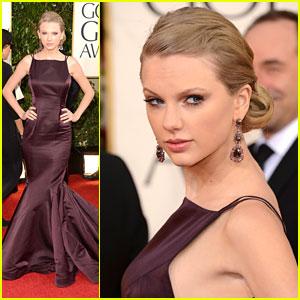 Taylor Swift: Golden Globe Awards 2013