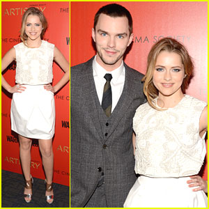 Teresa Palmer: 'Warm Bodies' NYC Screen