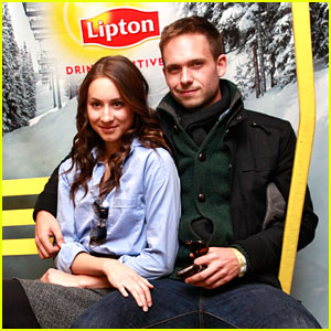 Troian Bellisario &#038; Patrick J. Adams: Sundance Sweeties