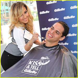Adrienne Bailon: Kiss &#038; Tell with Gillette in Miami