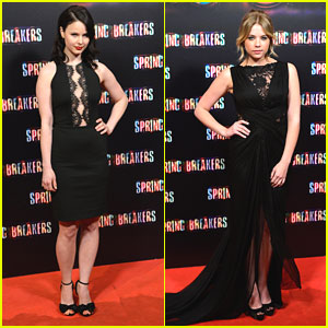Ashley Benson & Rachel Korine: 'Spring Breakers' Madrid Premiere