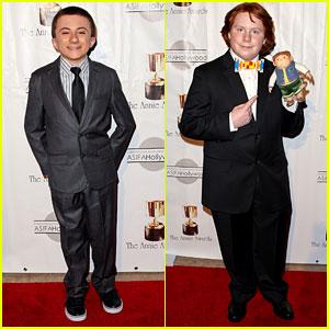Atticus Shaffer & Tucker Albrizzi: Annie Awards 2013