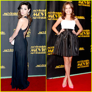 Bailee Madison & Gia Mantegna: MovieGuide Awards 2013