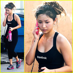 Brenda Song: Phone Call Cutie