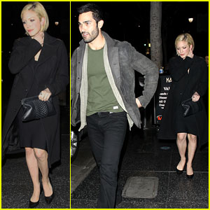 Brittany Snow & Tyler Hoechlin: Katsuya Dinner Duo!