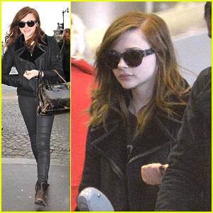Chloe Moretz: Paris Arrival