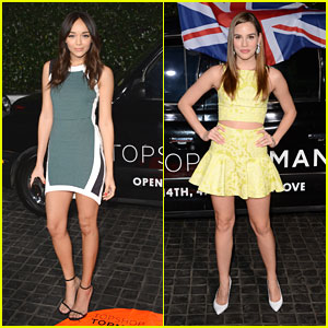 Ashley Madekwe & Christa B. Allen: Topshop Two